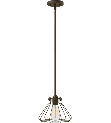 Hinkley 3110OZ Congress 1 Light 9 inch Oil Rubbed Bronze Mini-Pendant Ceiling Light photo