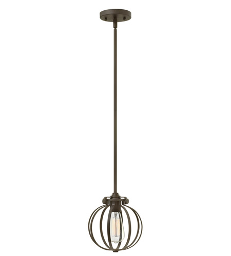 Hinkley Lighting Congress 1 Light Mini-Pendant in Oil Rubbed Bronze 3111OZ