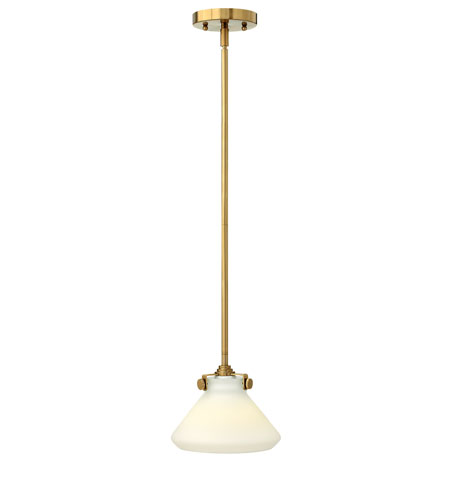 Hinkley Lighting Congress 1 Light Mini-Pendant in Brushed Caramel (shade sold separately) 3117BC photo
