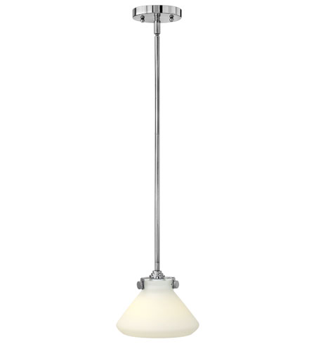 Hinkley Lighting Congress 1 Light Mini-Pendant in Chrome (shade sold separately) 3117CM photo