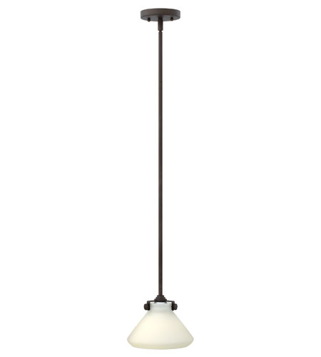 Hinkley Lighting Congress 1 Light Mini-Pendant in Oil Rubbed Bronze (shade sold separately) 3117OZ photo
