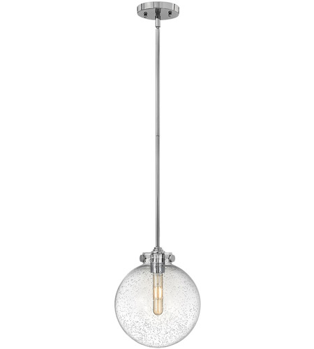 Hinkley 3125CM Congress 1 Light 10 inch Chrome Pendant Ceiling Light photo