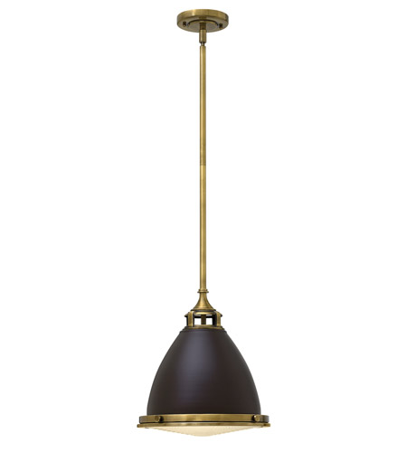 Hinkley 3126KZ-GU24 Amelia 1 Light 13 inch Buckeye Bronze Mini-Pendant Ceiling Light in GU24 photo