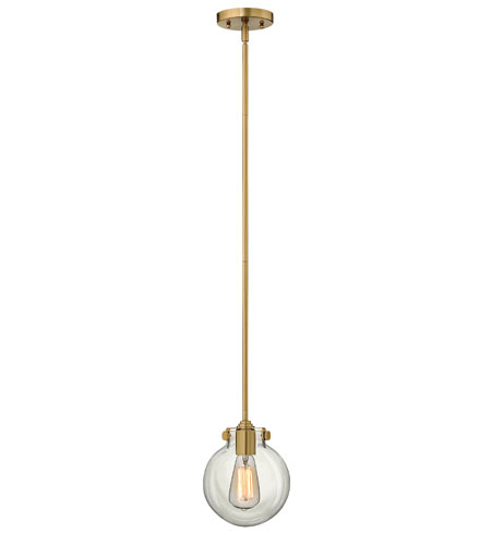 Hinkley Lighting Congress 1 Light Mini-Pendant in Brushed Caramel 3128BC photo