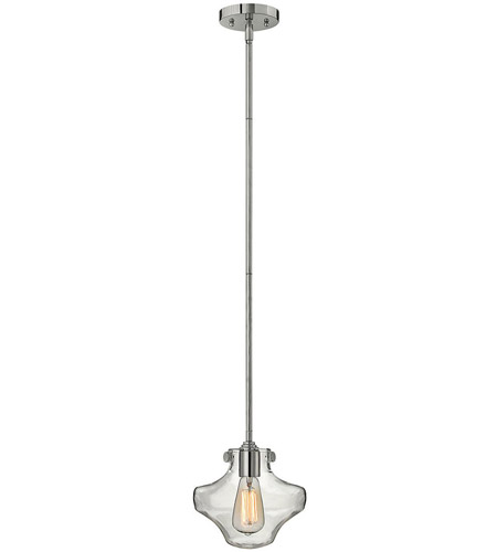 Hinkley Lighting Congress 1 Light Mini-Pendant in Chrome 3129CM photo