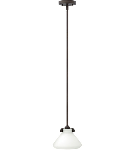 Hinkley 3130OZ Congress 1 Light 8 inch Oil Rubbed Bronze Mini-Pendant Ceiling Light in Incandescent photo