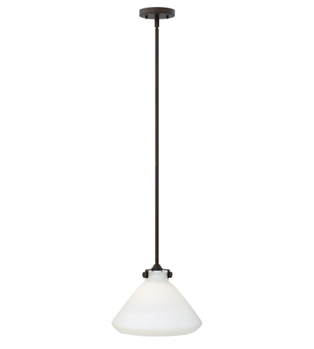 Hinkley 3131OZ Congress 1 Light 12 inch Oil Rubbed Bronze Mini-Pendant Ceiling Light in Incandescent  photo
