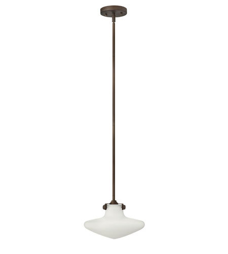 Hinkley Lighting Congress 1 Light Mini-Pendant in Oil Rubbed Bronze 3132OZ