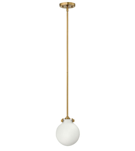 Hinkley Lighting Congress 1 Light Mini-Pendant in Brushed Caramel 3133BC
