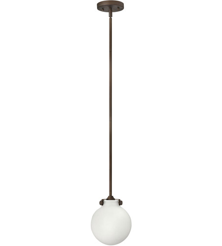 Hinkley Lighting Congress 1 Light Mini-Pendant in Oil Rubbed Bronze 3133OZ