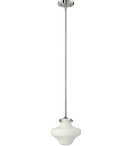 Hinkley 3134CM Congress 1 Light 9 inch Chrome Mini-Pendant Ceiling Light in Incandescent photo