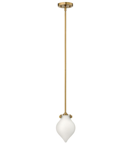Hinkley Lighting Congress 1 Light Mini-Pendant in Brushed Caramel 3135BC photo