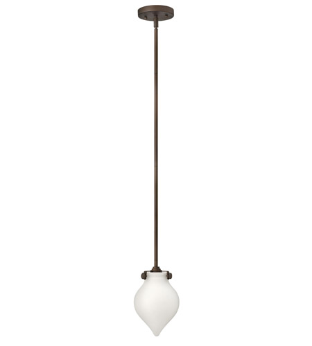 Hinkley Lighting Congress 1 Light Mini-Pendant in Oil Rubbed Bronze 3135OZ