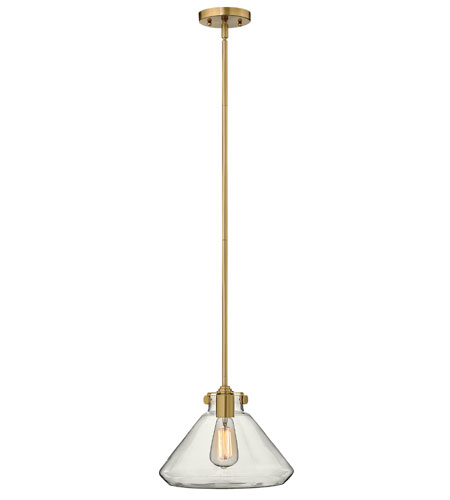 Hinkley Lighting Congress 1 Light Mini-Pendant in Brushed Caramel 3137BC photo