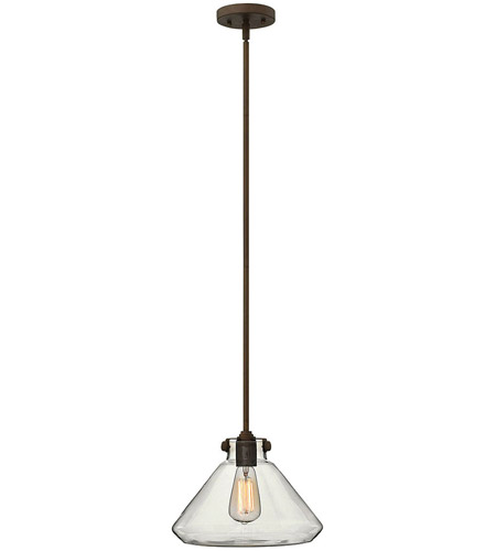 Hinkley 3137OZ Congress 1 Light 12 inch Oil Rubbed Bronze Mini-Pendant Ceiling Light photo