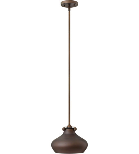 Hinkley Lighting Congress 1 Light Mini-Pendant in Oil Rubbed Bronze 3138OZ