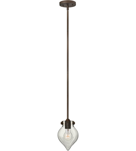 Hinkley Lighting Congress 1 Light Mini-Pendant in Oil Rubbed Bronze 3139OZ