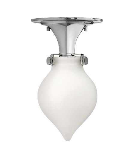 Hinkley Lighting Congress 1 Light Flush Mount in Chrome 3145CM