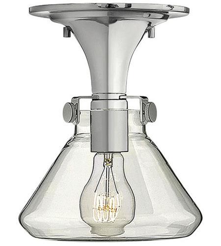 Hinkley Lighting Congress 1 Light Flush Mount in Chrome 3146CM