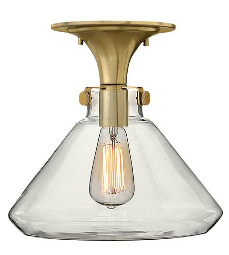 Hinkley Lighting Congress 1 Light Flush Mount in Brushed Caramel 3147BC