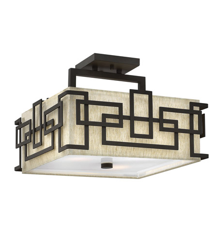Hinkley Lighting Lanza 3 Light Foyer in Oil Rubbed Bronze 3161OZ