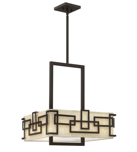 Hinkley Lighting Lanza 3 Light Chandelier in Oil Rubbed Bronze 3163OZ