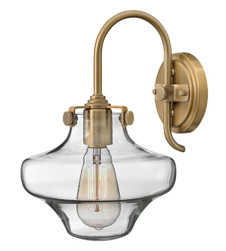 Hinkley Lighting Congress 1 Light Sconce in Brushed Caramel 3171BC photo