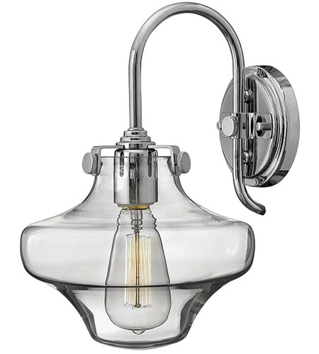 Chrome Glass Wall Sconces