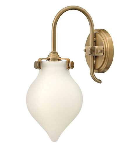 Hinkley Lighting Congress 1 Light Sconce in Brushed Caramel 3172BC