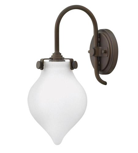 Hinkley Lighting Congress 1 Light Sconce in Oil Rubbed Bronze 3172OZ