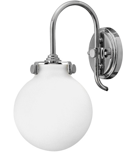 Hinkley Lighting Congress 1 Light Sconce in Chrome 3173CM