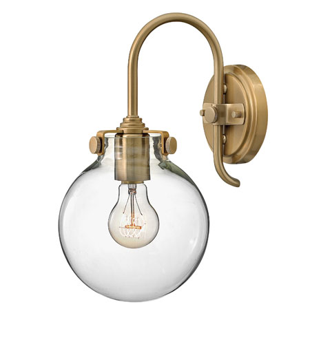 Hinkley Lighting Congress 1 Light Sconce in Brushed Caramel 3174BC