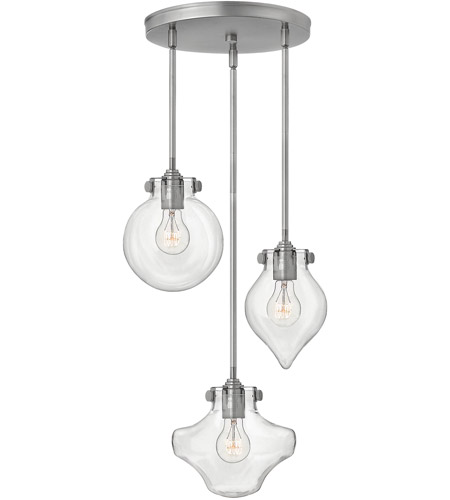 Hinkley Antique Nickel Steel Pendants