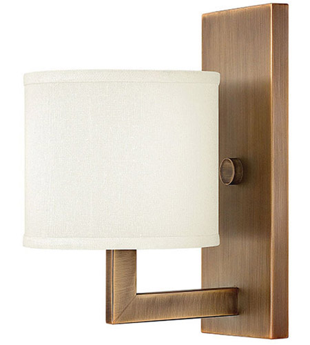 Hinkley Lighting Hampton 1 Light Sconce in Brushed Bronze 3210BR photo