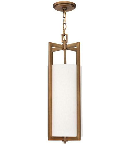 Hinkley Drum Lighting: Hinkley 3217BR Hampton 1 Light 9 Inch Brushed Bronze Mini