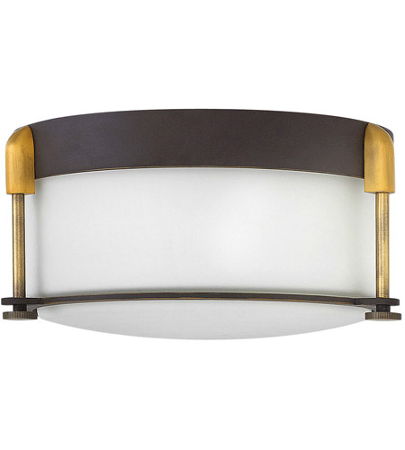 Hinkley 3231OZ Colbin 2 Light 13 inch Oil Rubbed Bronze Foyer Flush Mount Ceiling Light photo