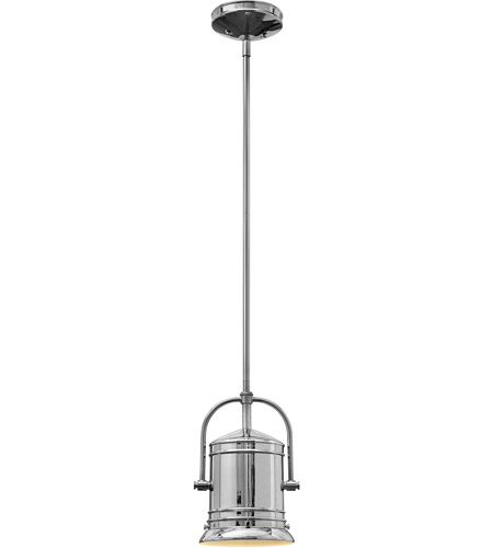 Hinkley Lighting Pullman 1 Light Mini-Pendant in Chrome 3254CM