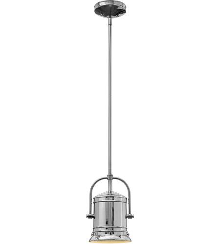Hinkley Lighting Pullman 1 Light Mini-Pendant in Chrome 3254CM