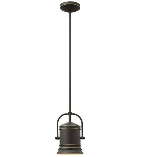 Hinkley Lighting Pullman 1 Light Mini-Pendant in Oil Rubbed Bronze 3254OZ