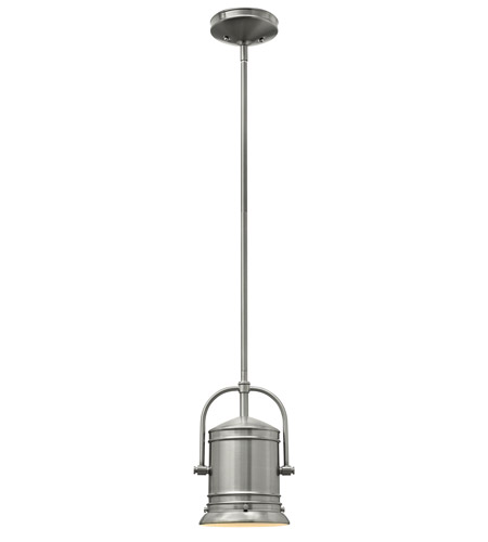 Hinkley 3254BN-LED Pullman 1 Light 7 inch Brushed Nickel Mini-Pendant Ceiling Light in LED photo