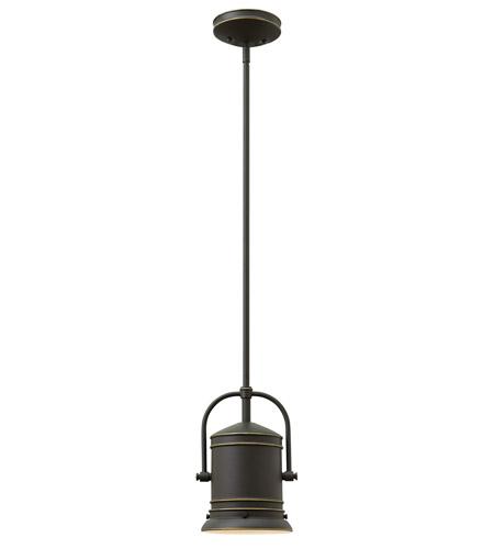 Pullman 1 Light 7 Inch Oil Rubbed Bronze Mini Pendant Ceiling In Led