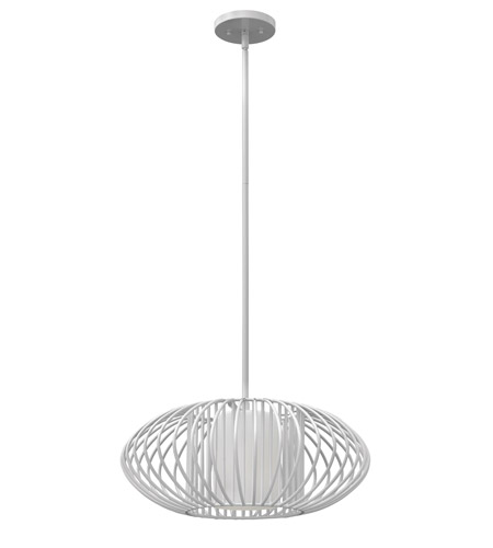 Hinkley 32557CLD-GU24 Vibe 1 Light 19 inch Cloud Mini-Pendant Ceiling Light in GU24, Etched Opal Glass photo