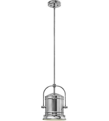Hinkley 3257CM Pullman 1 Light 10 inch Chrome Foyer Pendant Ceiling Light in Incandescent photo