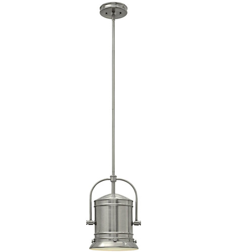 Hinkley Lighting Pullman 1 Light Foyer in Brushed Nickel 3257BN photo