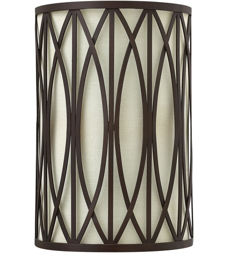 Hinkley 3292VZ Walden 2 Light 8 inch Victorian Bronze ADA Sconce Wall Light photo