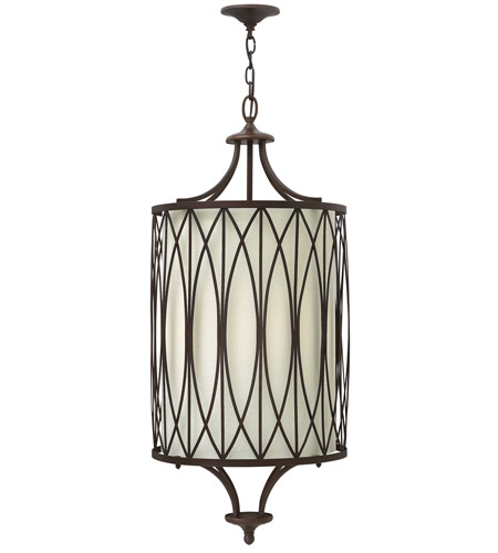 Hinkley 3294VZ Walden 4 Light 16 inch Victorian Bronze Hanging Foyer Ceiling Light photo