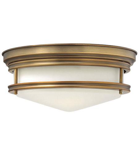 Hinkley Lighting Hadley 3 Light Flush Mount in Brushed Bronze 3301BR