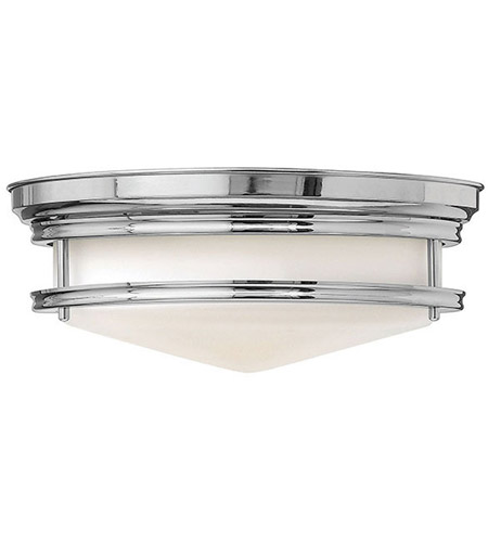 Hinkley 3301CM-LED Hadley LED 14 inch Chrome Foyer Flush Mount Ceiling Light photo