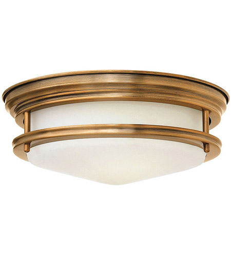 Hinkley Lighting Hadley 1 Light Flush Mount in Brushed Bronze 3302BR-LED photo