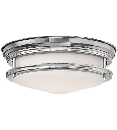 Hinkley Lighting Hadley 1 Light Flush Mount in Chrome 3302CM-LED